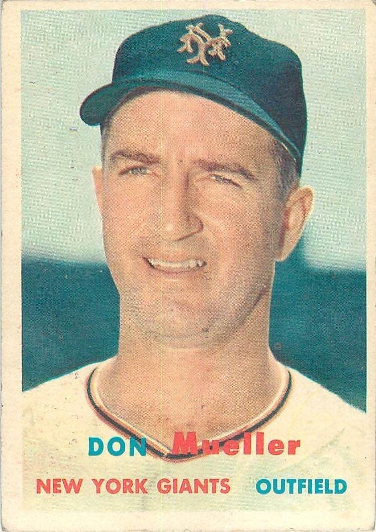 1957 Topps #148 Don Mueller