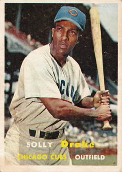 1957 Topps #159 Solly Drake RC