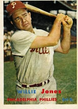 1957 Topps #174 Willie Jones