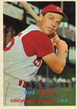 1957 Topps #180 Gus Bell