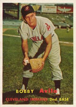 1957 Topps #195 Bobby Avila