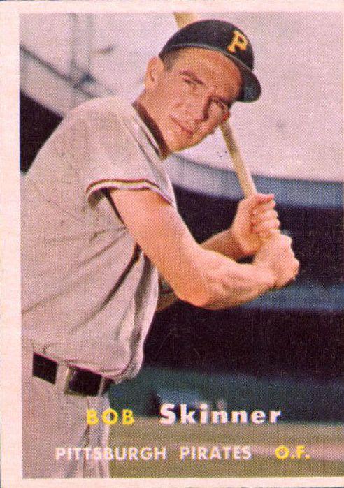 1957 Topps #209 Bob Skinner