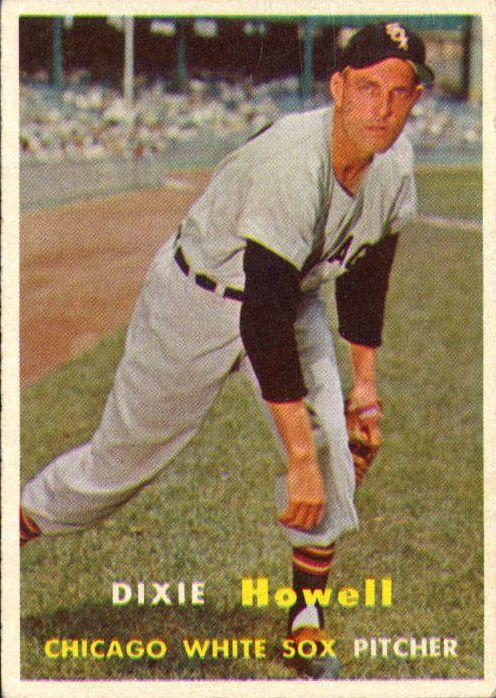 1957 Topps #221 Dixie Howell