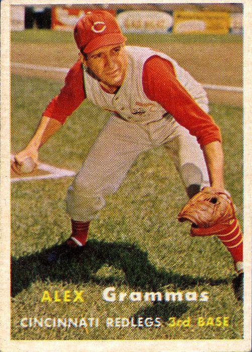 1957 Topps #222 Alex Grammas