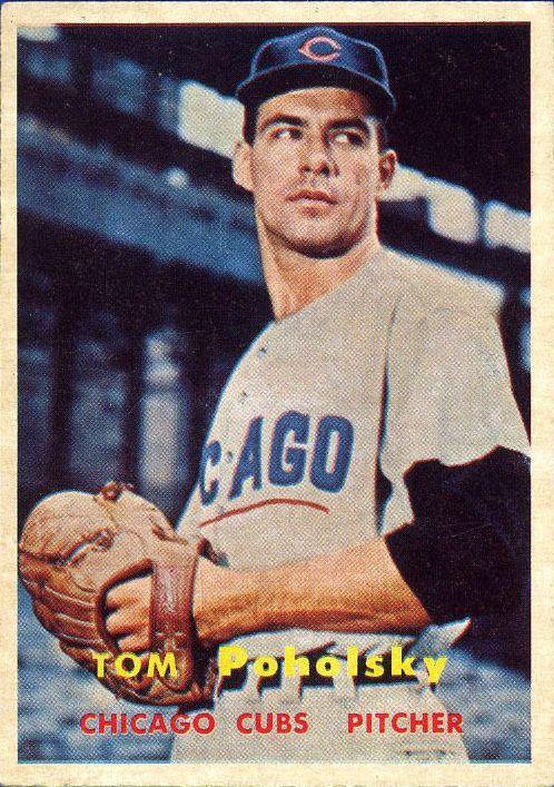 1957 Topps #235 Tom Poholsky