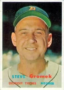 1957 Topps #258 Steve Gromek