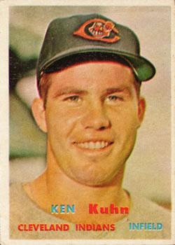 1957 Topps #266 Ken Kuhn DP RC