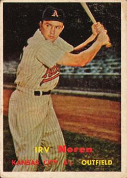 1957 Topps #298 Irv Noren DP
