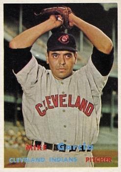 1957 Topps #300 Mike Garcia