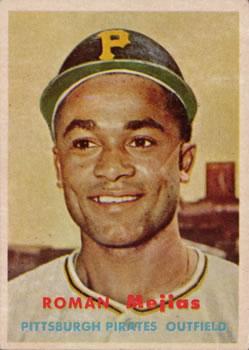 1957 Topps #362 Roman Mejias RC