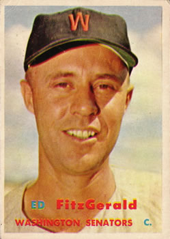 1957 Topps #367 Ed Fitzgerald