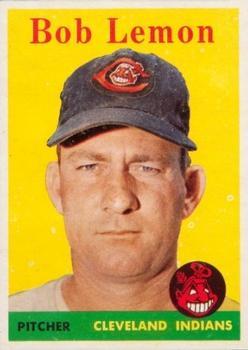 1958 Topps #2B Bob Lemon YT
