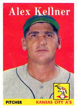 1958 Topps #3 Alex Kellner