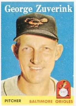 1958 Topps #6 George Zuverink