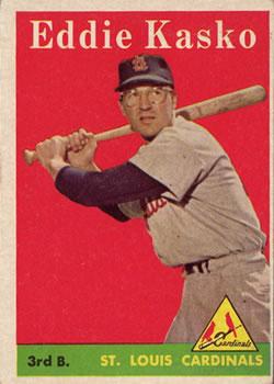 1958 Topps #8A Eddie Kasko