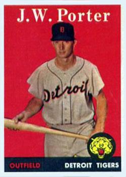 1958 Topps #32A J.W. Porter