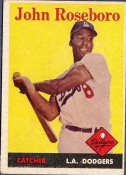 1958 Topps #42 John Roseboro RC