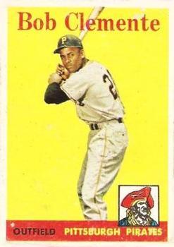 1958 Topps #52B Roberto Clemente YT