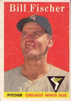 1958 Topps #56 Bill Fischer RC