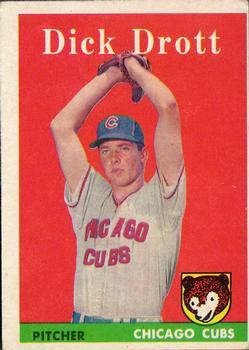 1958 Topps #80 Dick Drott RC