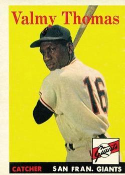 1958 Topps #86 Valmy Thomas RC