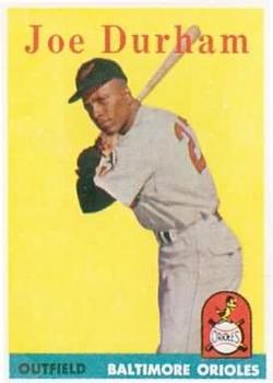 1958 Topps #96 Joe Durham RC