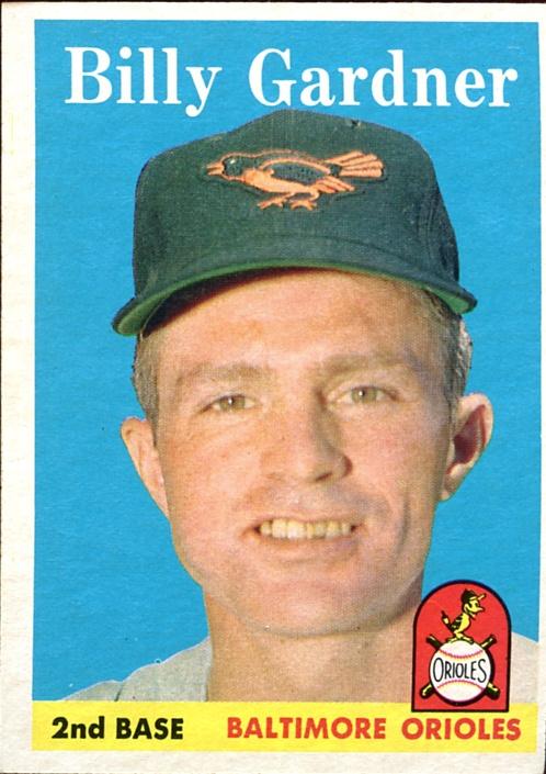 1958 Topps #105 Billy Gardner