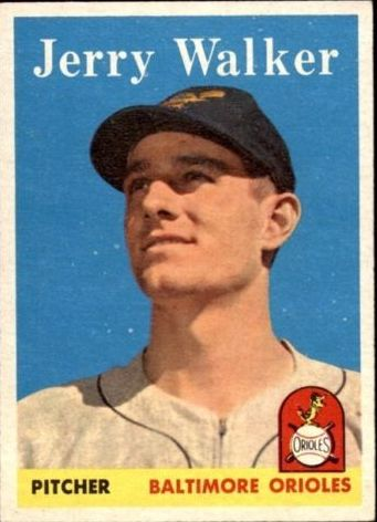 1958 Topps #113 Jerry Walker RC