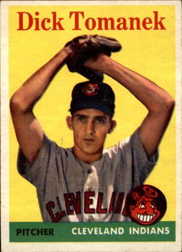 1958 Topps #123 Dick Tomanek RC