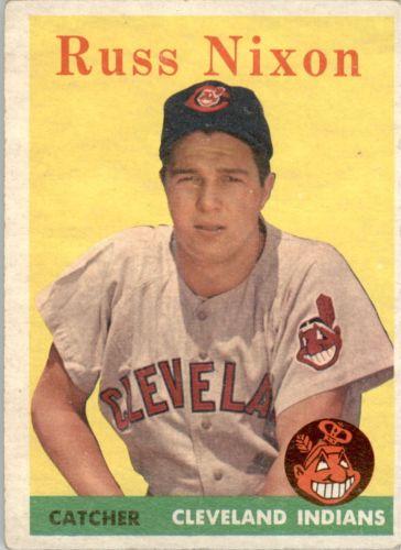 1958 Topps #133 Russ Nixon RC