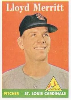 1958 Topps #231 Lloyd Merritt RC