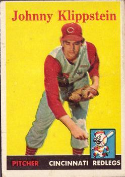 1958 Topps #242 Johnny Klippstein