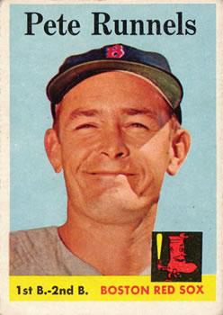 1958 Topps #265 Pete Runnels