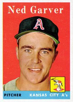 1958 Topps #292 Ned Garver