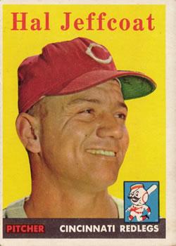 1958 Topps #294 Hal Jeffcoat