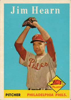 1958 Topps #298 Jim Hearn