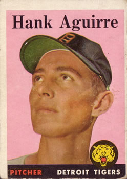 1958 Topps #337 Hank Aguirre