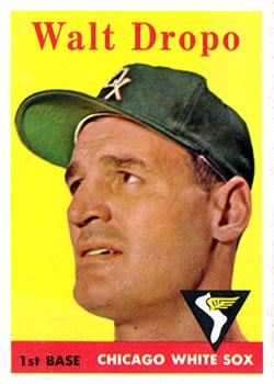 1958 Topps #338 Walt Dropo