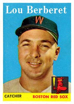 1958 Topps #383 Lou Berberet