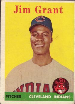 1958 Topps #394 Jim Grant RC