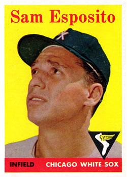 1958 Topps #425 Sammy Esposito