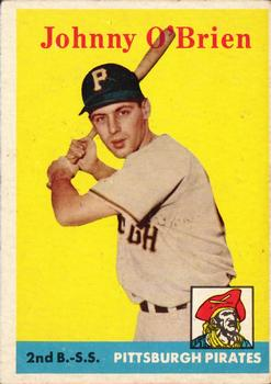 1958 Topps #426 Johnny O'Brien