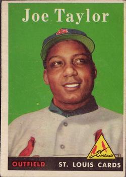 1958 Topps #451 Joe Taylor RC