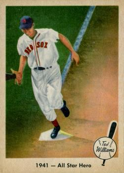 1959 Fleer Ted Williams #18 1941 All Star Hero