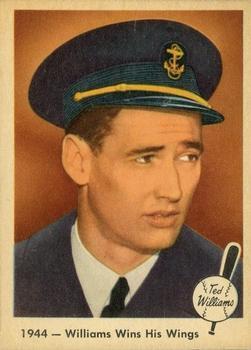 1959 Fleer Ted Williams #23 Williams Wins Wings