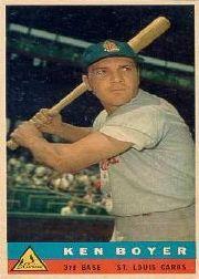 1959 Bazooka #4 Ken Boyer SP