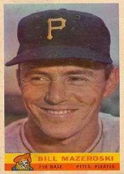 1959 Bazooka #16 Bill Mazeroski