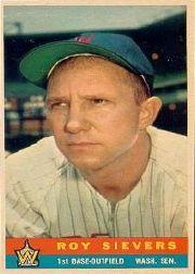 1959 Bazooka #19 Roy Sievers SP