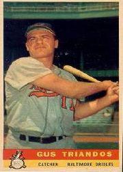 1959 Bazooka #21 Gus Triandos SP