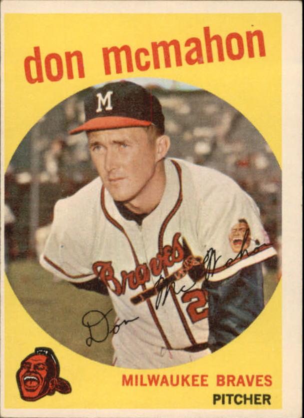 1959 Topps #3 Don McMahon